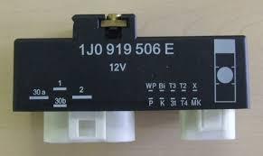 Fan Kontrol Ünitesi 1J0919506E Bora Polo A3