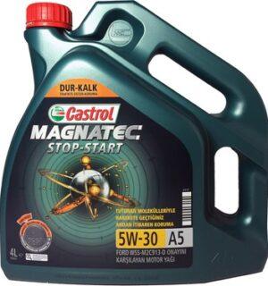 Castrol Magnatec 5W30 -C2-START STOP – Dizel Benzinli Araçlar için Motor Yağı 4 LİTRE
