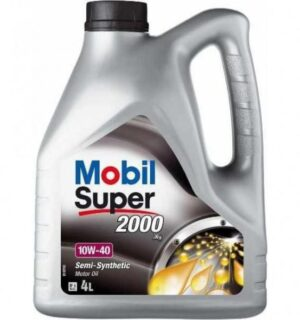 MOBİL Süper 10W-40  2000×1 Dizel Benzinli Araçlar Motor Yağı 4 LİTRE